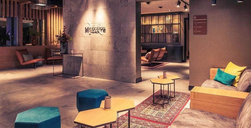 Un hotel recientemente inaugurado y con una privilegiada ubicación junto a la estación Amsterdam Sloterdijk