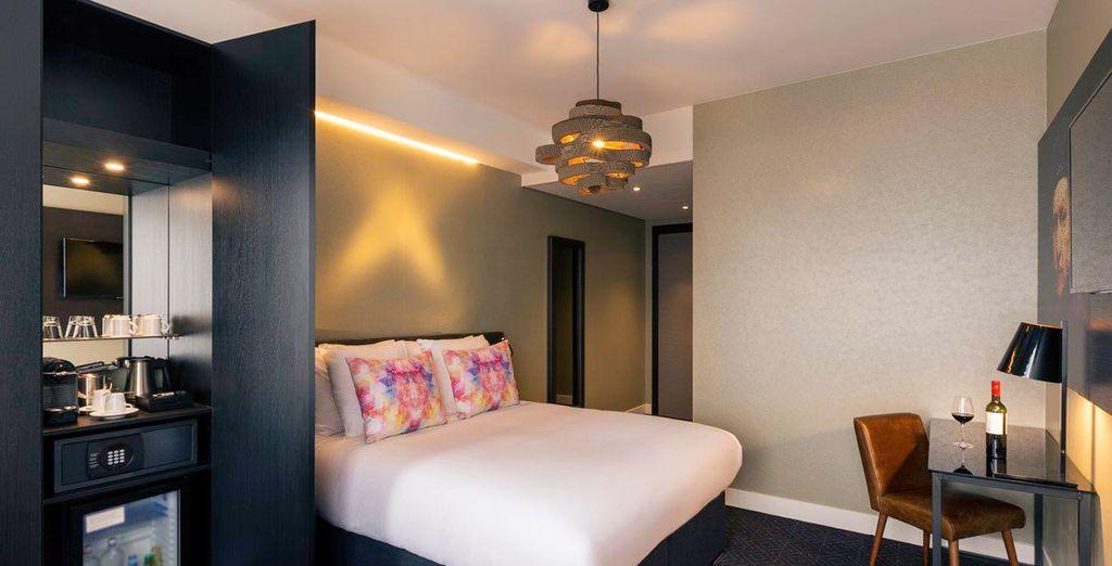 En el segundo paso de tu compra, por un suplemento, podrás mejorar tu estancia con una habitación Privilege