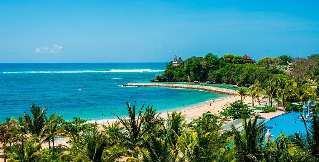 Descansa merecidamente en las playas de Nusa Dua