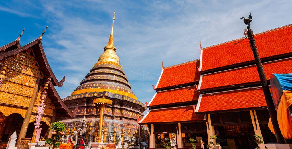 Conocerás uno de los templos budistas más antiguos en Lampang: Wat Phra That Lampang Luang