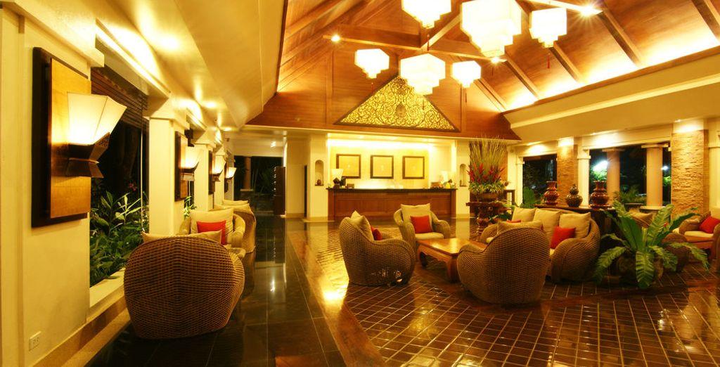 Ambiente cálido y acogedor en Laluna Hotel and Resort 4*