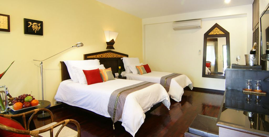 Tu habitación en Laluna Hotel and Resort, Chiang Rai 4*