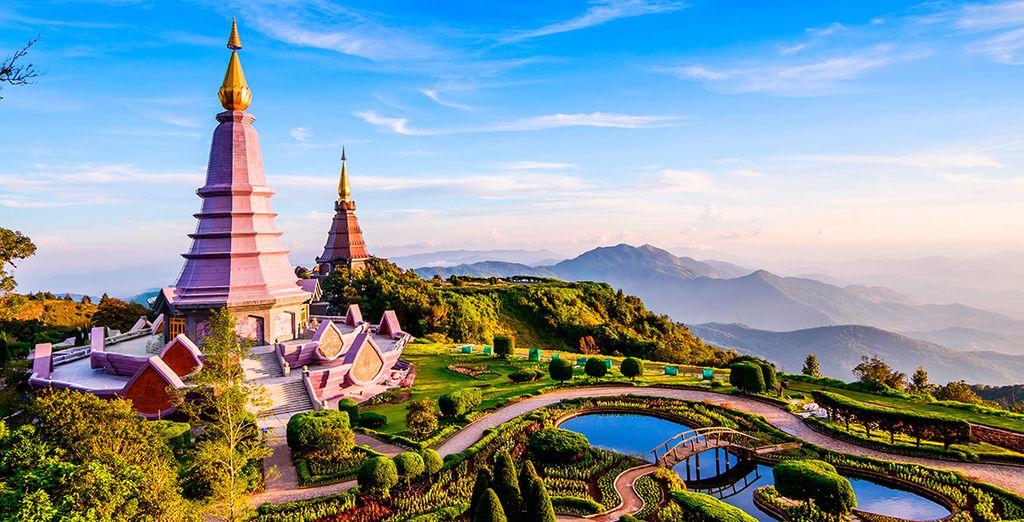 Tu última parada será Chiang Mai, conocida como