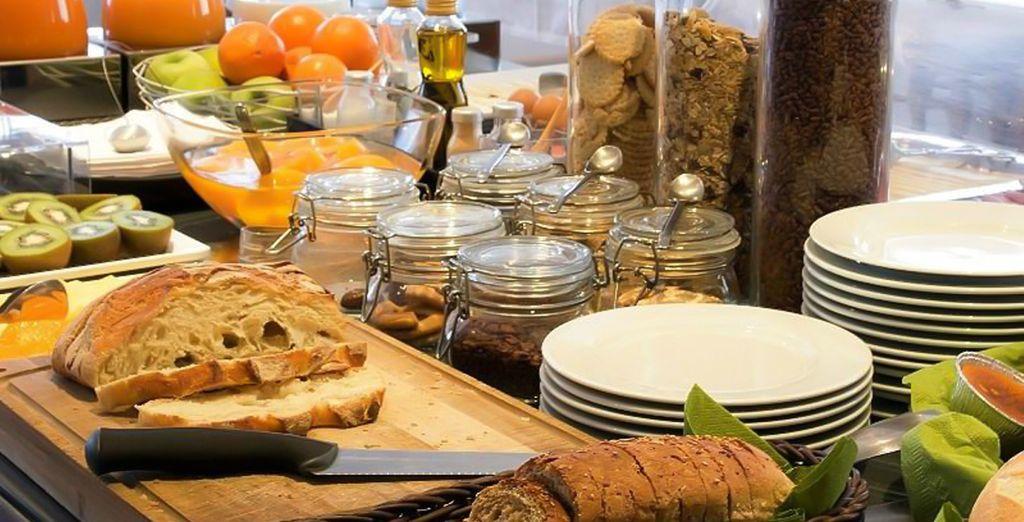 Te alojarás en régimen de alojamiento y desayuno