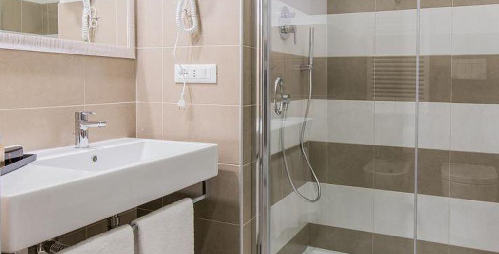 Con baño privado para mayor comodidad