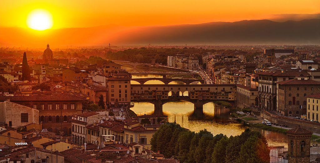 Florencia tiene una luz especial