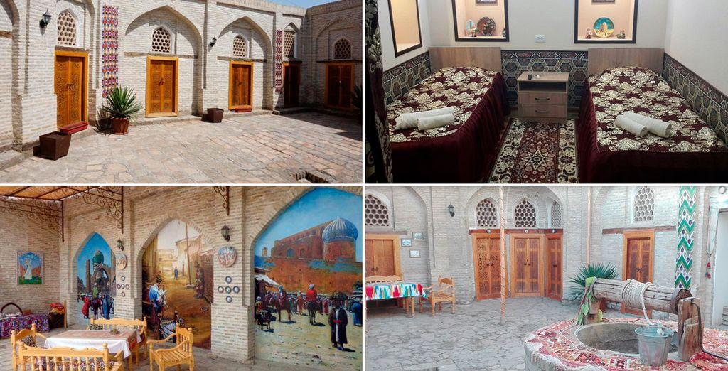 Hotel Khurjin, Bujará