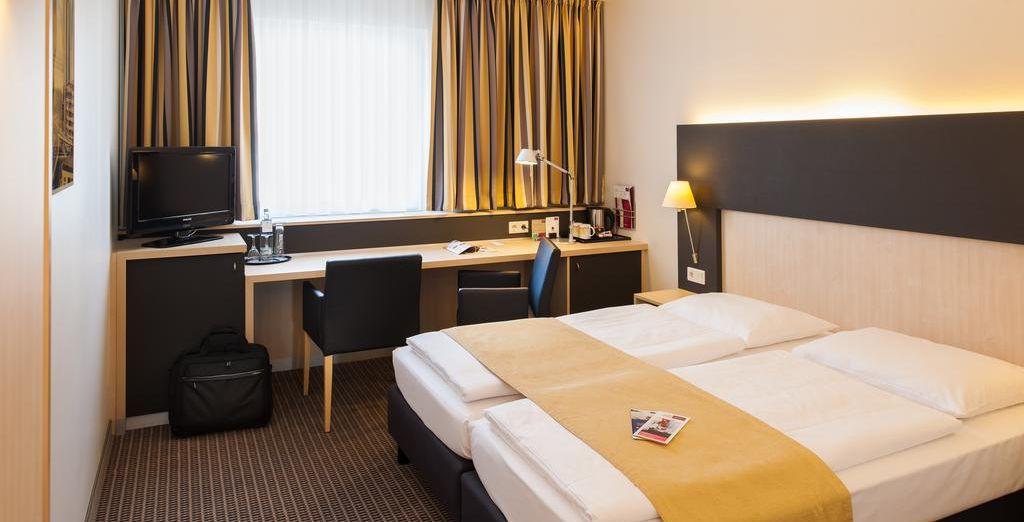 Tu habitación en Hotel Mercure City 4*