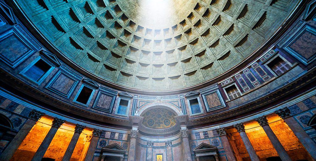 Su asombrosa arquitectura te dejará sobrecogido