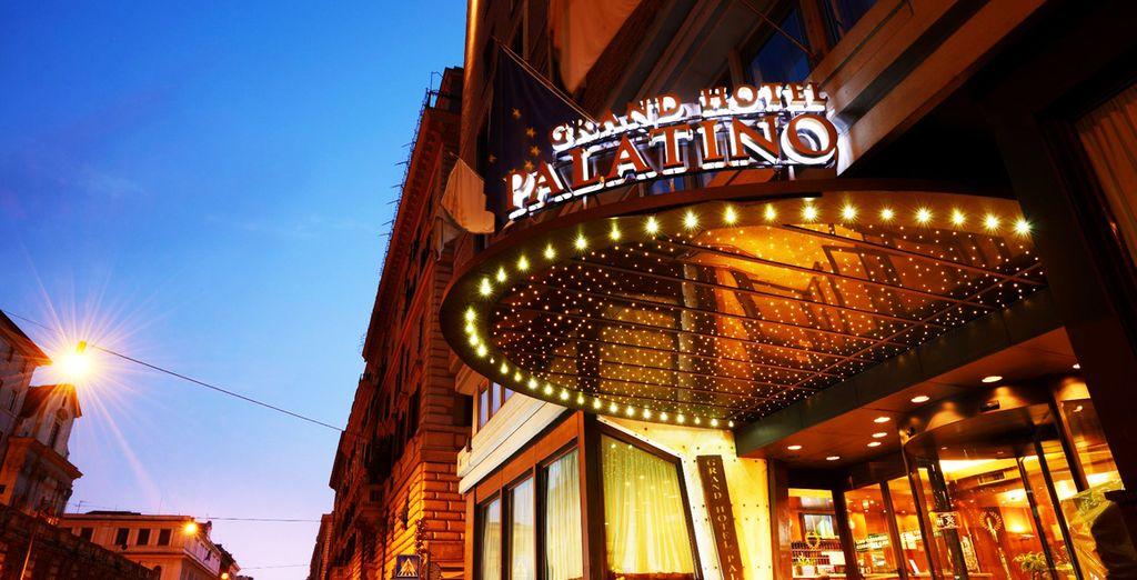 Bienvenido al Grand Hotel Palatino 4*