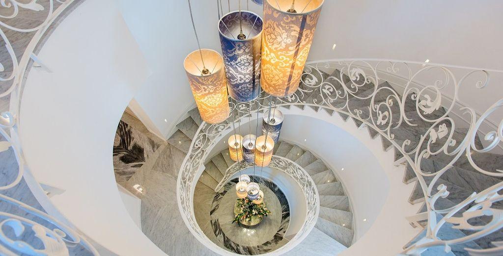 Tradición y modernidad conviven en el Palazzo Murrano