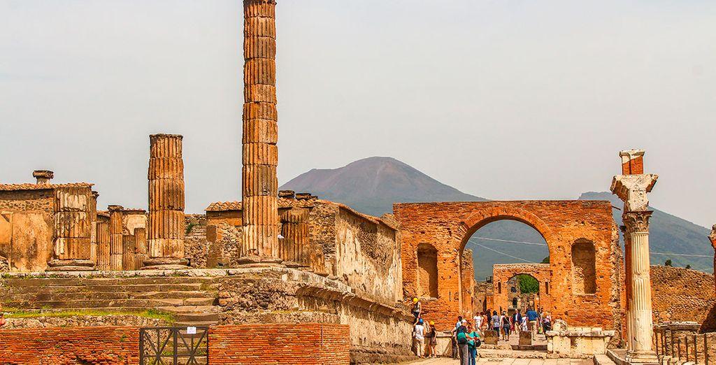 Realiza un interesante tour por Pompeya contratándolo en el segundo paso
