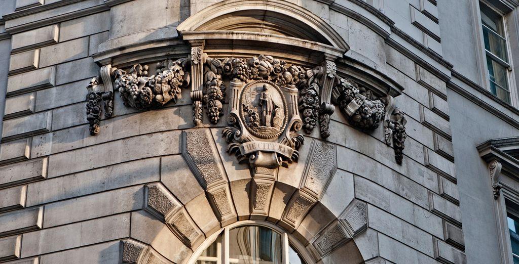 Detalles únicos en su fachada