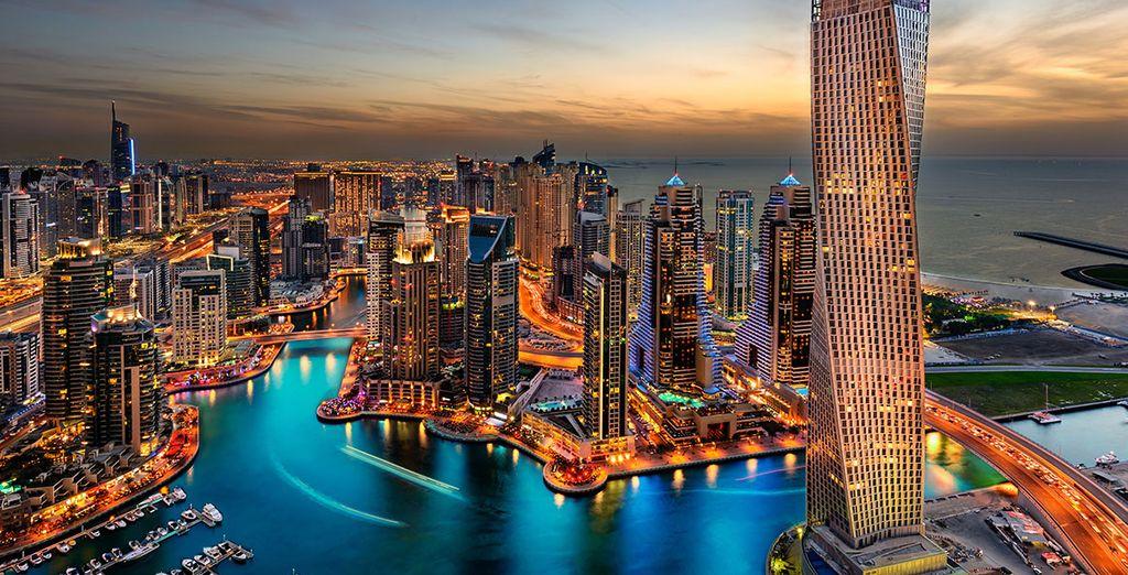 Descubre el skyline más alto del Medio Oriente