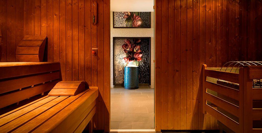 Visita la sauna en tu hotel y consigue el descanso que te mereces