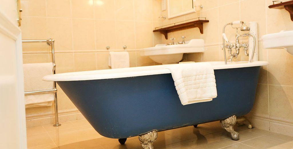Y un baño elegante