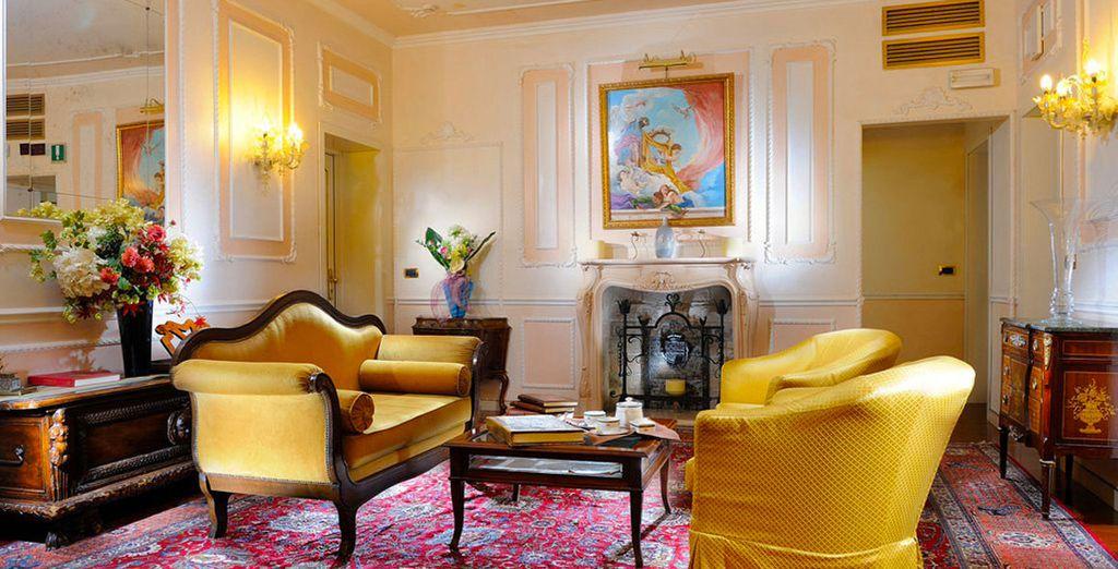 Bienvenido a la elegancia clásica del Hotel Ca' dei Conti 4*