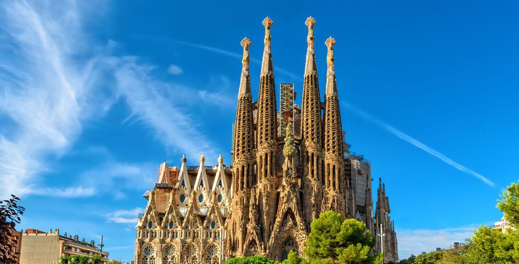 La Sagrada Familia, símbolo de la ciudad