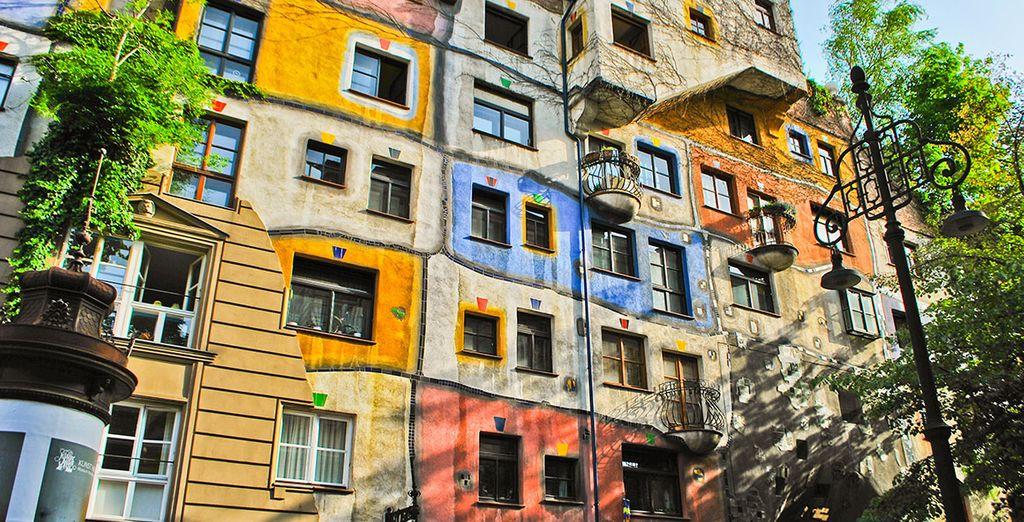 Ven a conocer la casa Hundertwasser