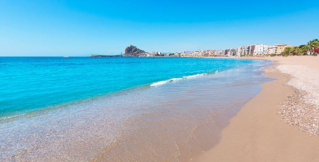Esplendorosas playas