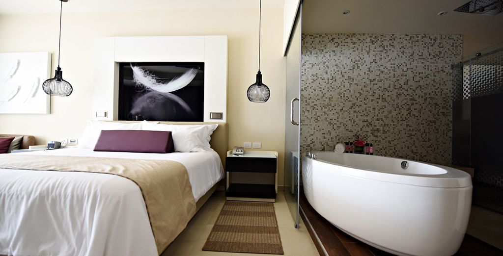 O en una Luxury Suite Ocean View Diamond Club