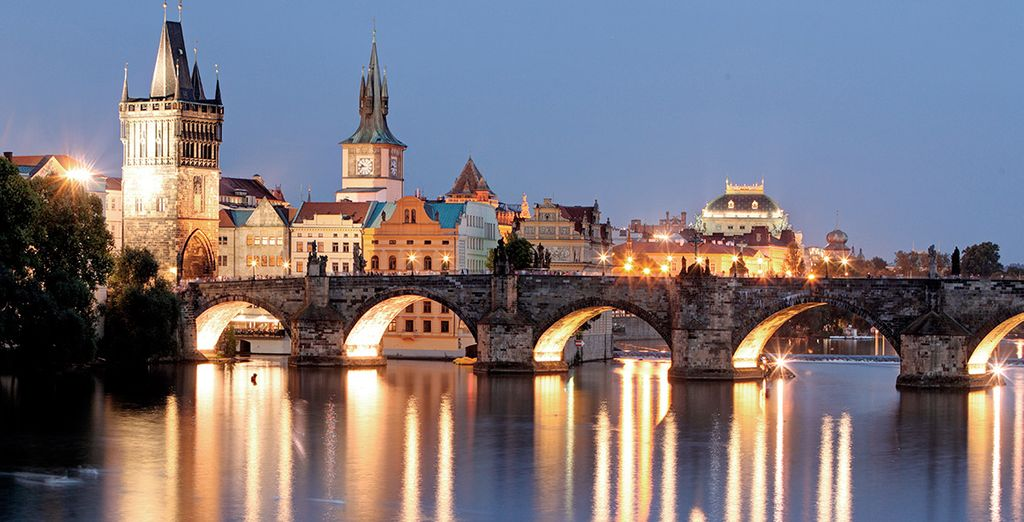 Descubre la capital checa alojándote en Hotel Royal Prague 4*
