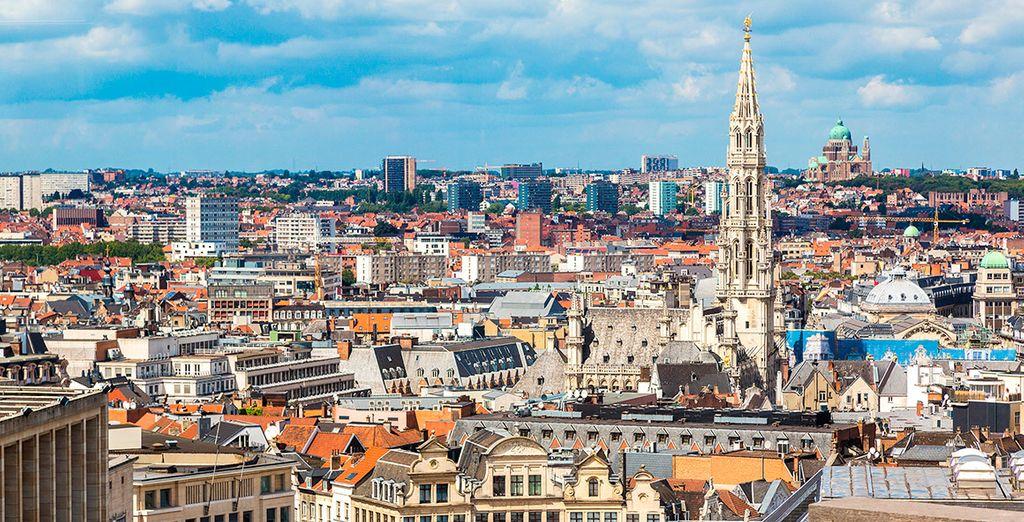 Bruselas es una ciudad moderna y acogedora... ¿Nos vamos?
