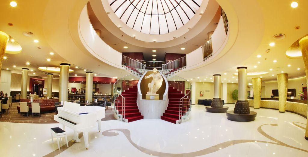 Hotel Don Giovanni Prague 4* te alojará durante tu visita a Praga