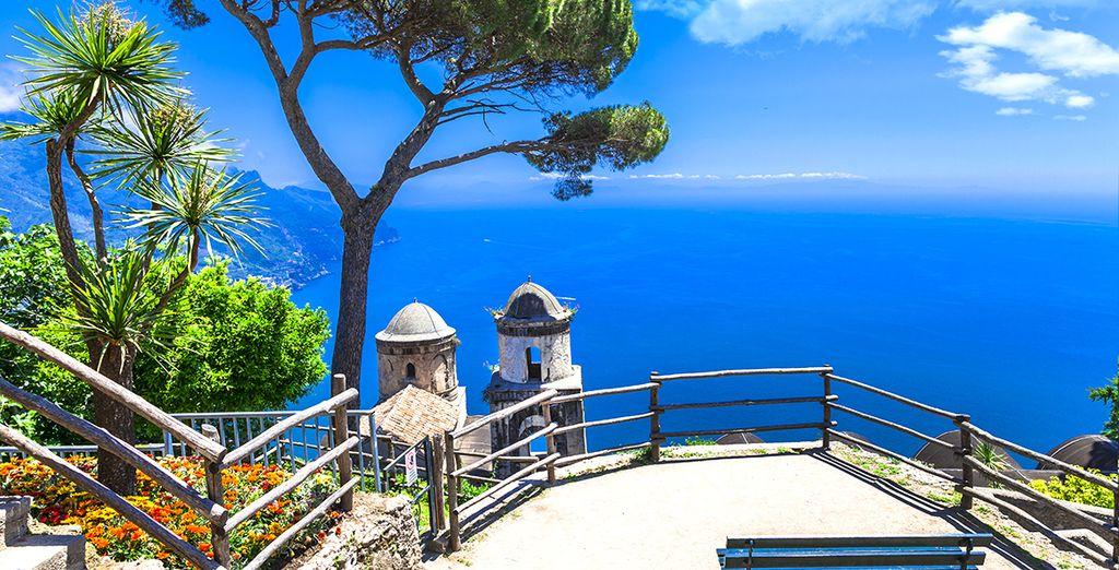 La costa Amalfitana te espera... ¿Nos vamos?