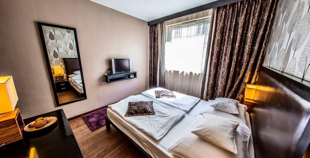 Te presentamos tu moderna habitación Estándar