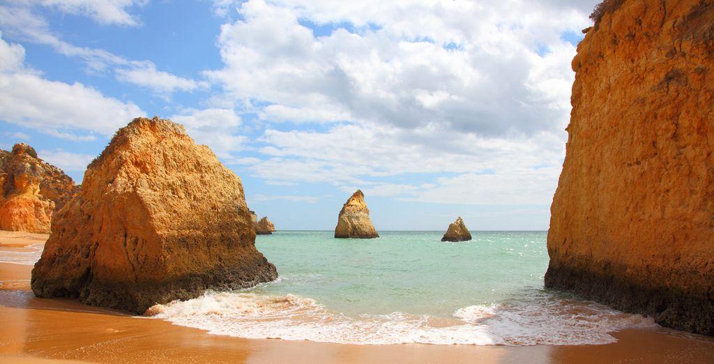 Los paisajes de Algarve te enamorarán