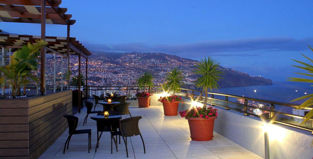 Un hotel con vistas espectaculares