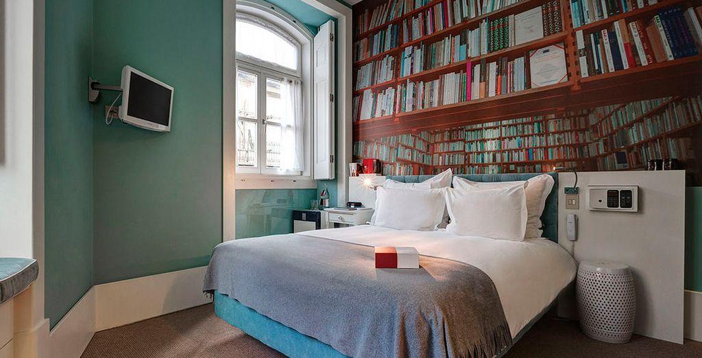Te alojarás en una habitación Classic con Vistas a la Ciudad