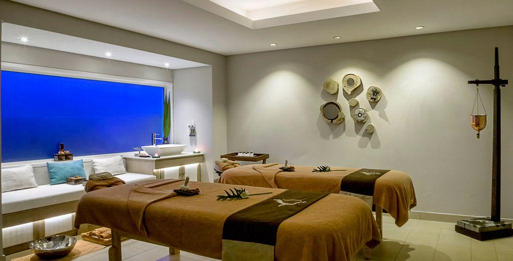 Disfruta de algún tratamiento o masaje