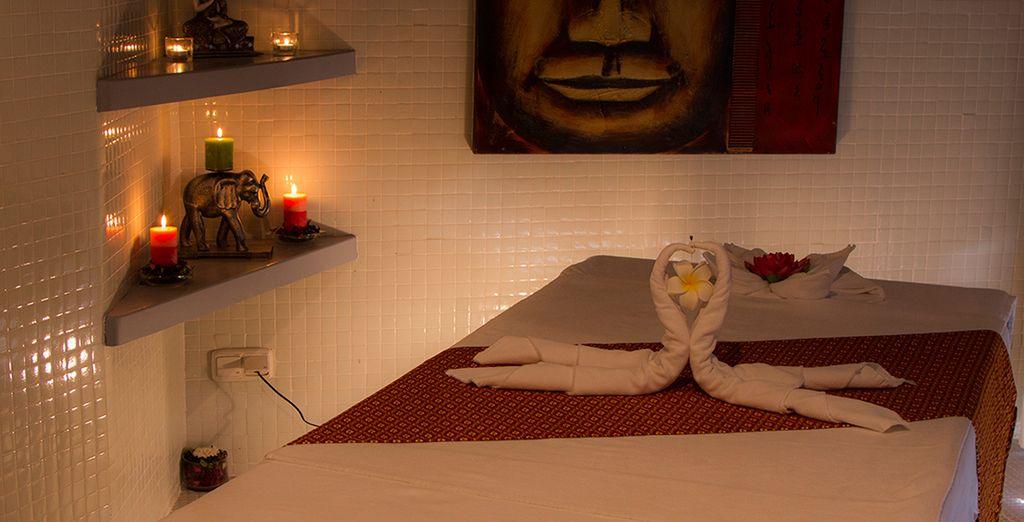 Relájate gracias a la gran gama de tratamientos del spa