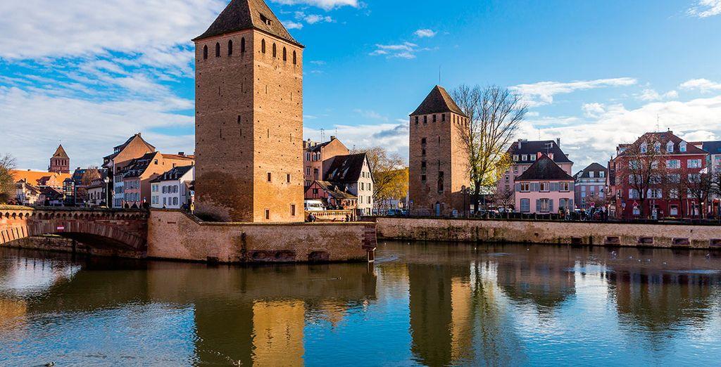 El segundo día llegarás a Estrasburgo