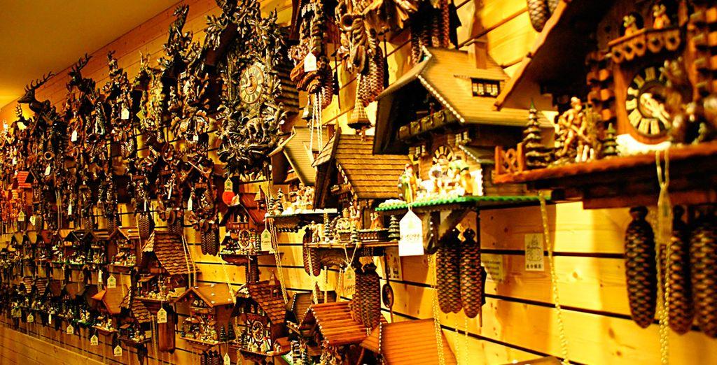 En Triberg visitaréis el Museo de los Relojes Cuco