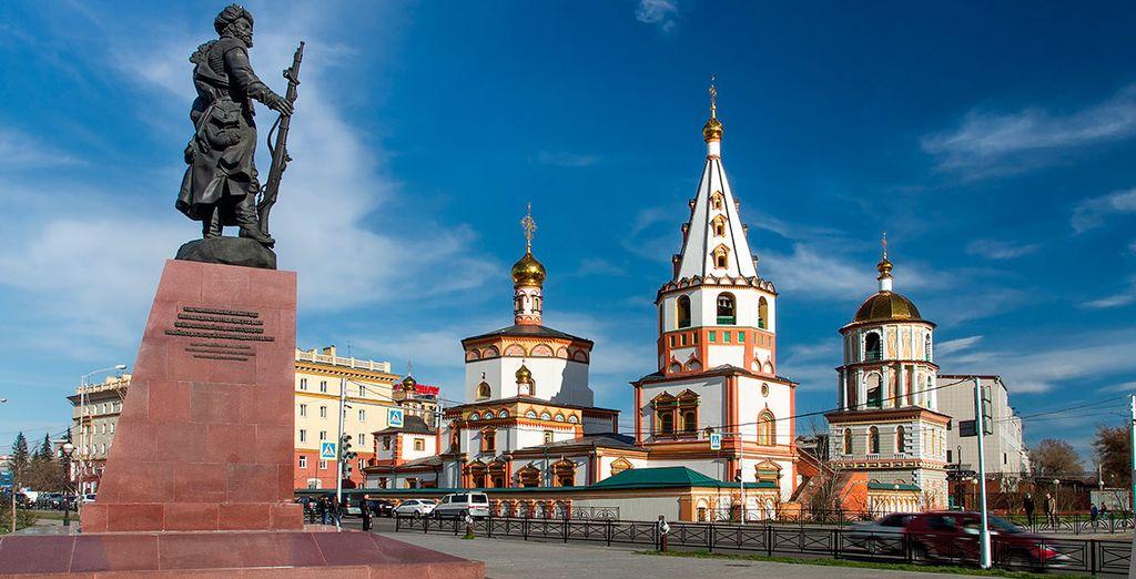 El octavo día visitarás Irkutsk