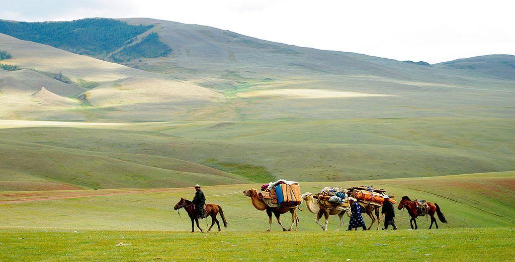 Mongolia y sus asombrosos paisajes