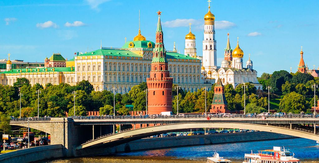 Un impresionante viaje que comenzará en Moscú