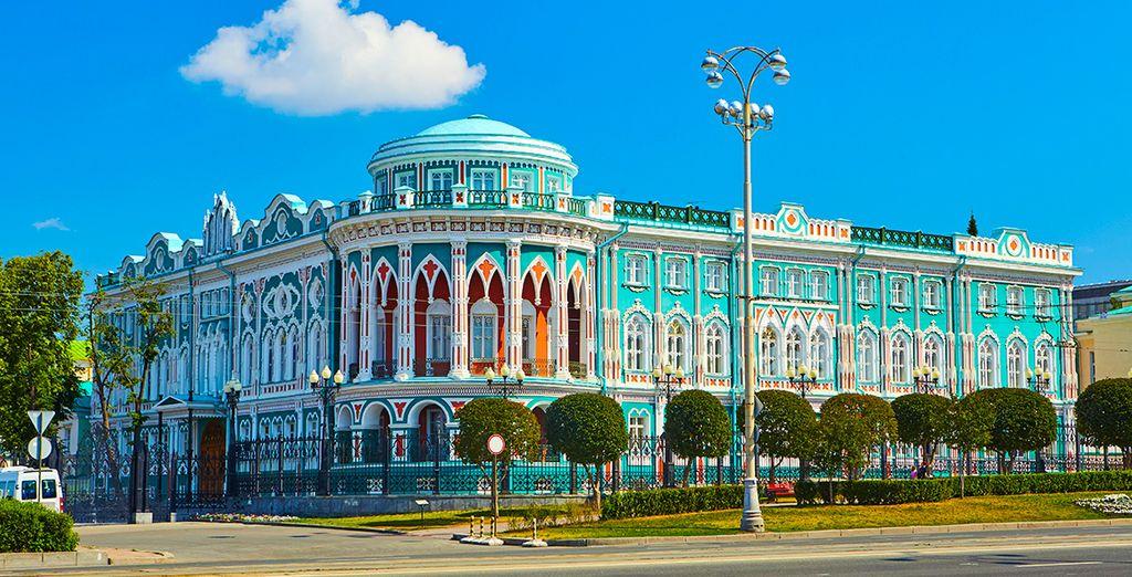 Continuaréis la marcha camino de Ekaterimburgo