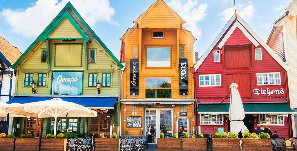 Stavanger es la cuarta ciudad más grande de Noruega
