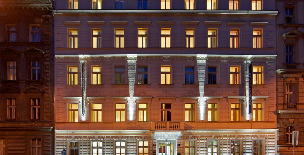 Una fachada impresionante...