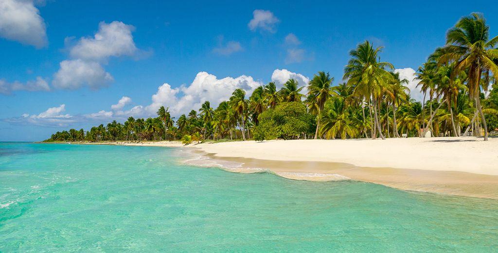 Bellas playas de aguas turquesas