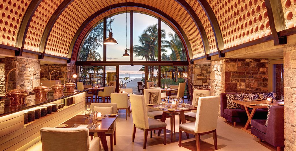 Un hotel con una oferta de restauración para todos los gustos y paladares
