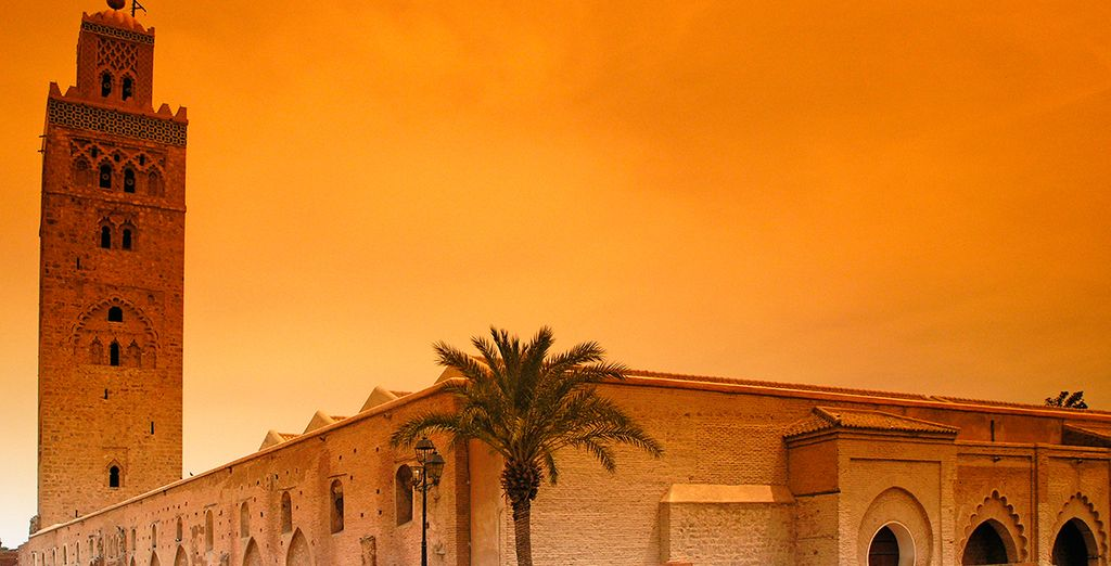 Visita la famosa mezquita Kutubía