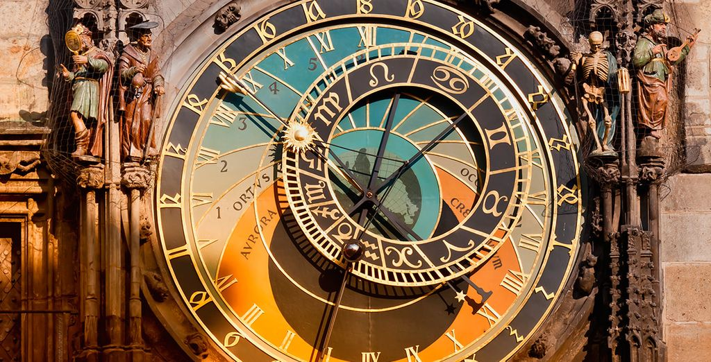 El conocido reloj Astronómico data del siglo XV
