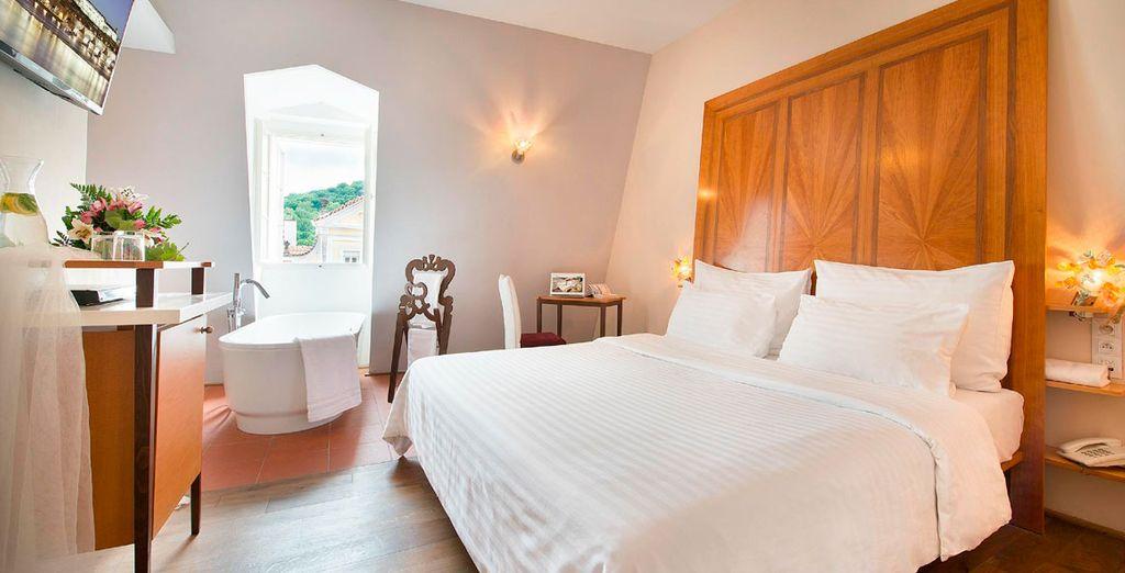 Un exclusivo hotel de diseño: Design Hotel Neruda 4* te espera en Praga