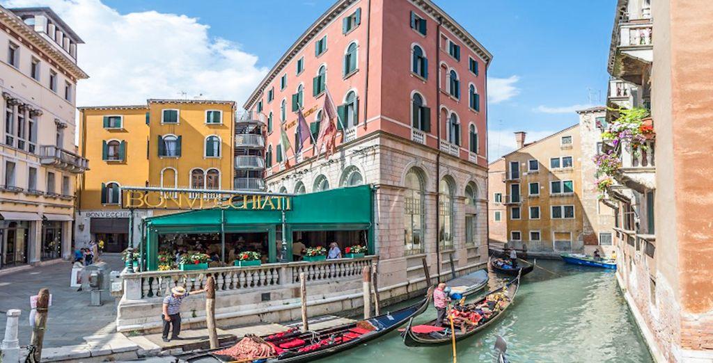 Bienvenido al Hotel Bonvecchiati 4*