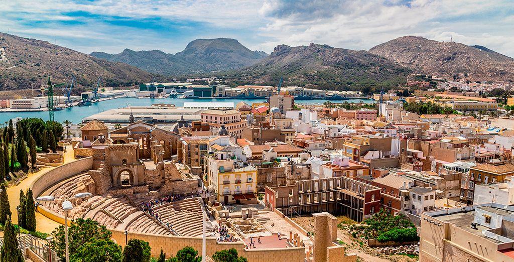 Acércate a Cartagena... una ciudad llena de sorpresas